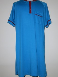 Men's nightshirt - maroon