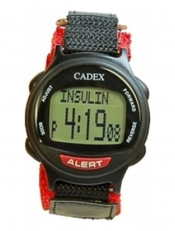 12 Alarm e-pill PEDIATRIC / VELCRO Reminder and ALERT Watch (952437) - TTW-CAD-PEDIATRIC - Medication Aids/Medication Reminders & Alarms