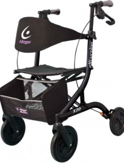 Airgo eXcursion X20- Lightweight Side-fold Rollator - Rollators/