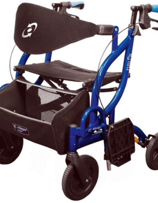 Airgo Fusion Side-Folding Rollator & Transport Chair in Rollators/