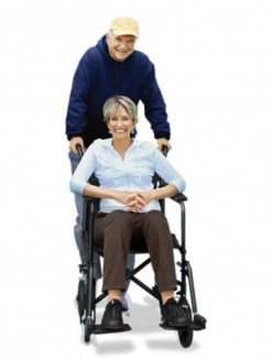 Airgo Ultra Light Transport Chair - Manual Wheelchairs/Lightweight