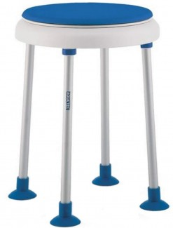 Shower Stool - Aquatec Disk on Dot - Bathroom Safety/Shower Chairs & Seats