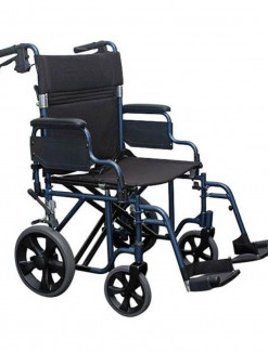 Auscare Shopper 12 Extra Wide Wheelchair - Manual Wheelchairs/Heavy Duty