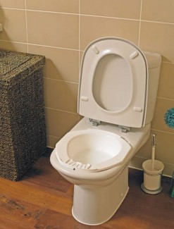 Bidet Bowl - Bathroom Safety/Toilet Aids