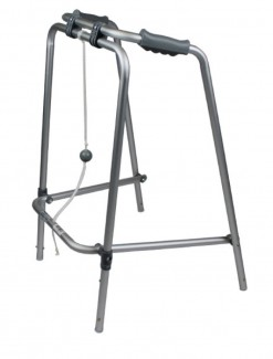 Folding Walking Frame Ball and Rope - Walkers/Standard