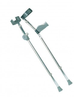 Forearm Crutches with Ergonomic Grip - Crutches/Forearm