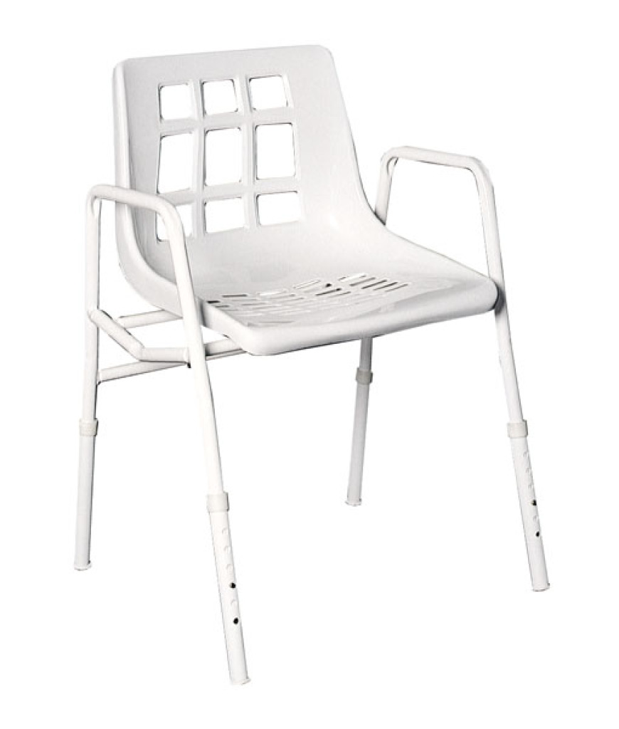 Shower Chair Extra Wide Steel