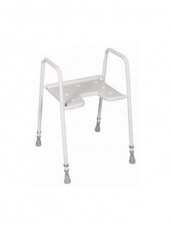 Shower Stool Cutaway Front - Bathroom Safety/Shower Chairs & Seats