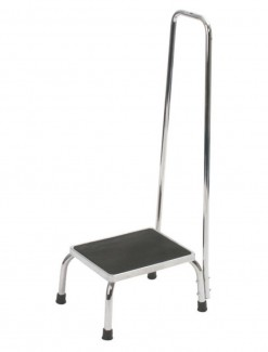 Step Stool with Handrail - Assistive Furniture/Steps & Stools