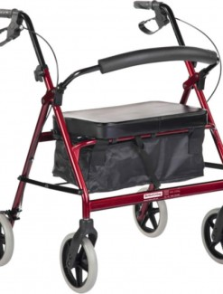 BetterLiving Maxi Plus Wheeled Walker - Bariatric & Large/Bariatric Rollators