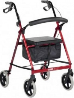 BetterLiving Tall Wheeled Walker - Rollators/