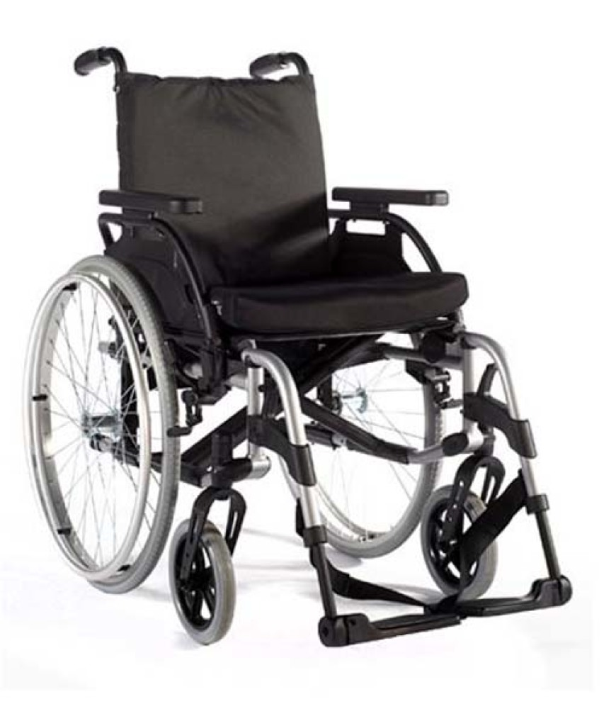 Upgrade To Breezy Basix Wheelchair From Only