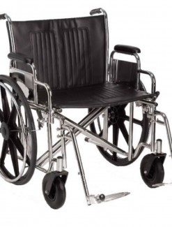 Breezy Easy Care Heavy-Duty Wheelchair - Bariatric & Large/Bariatric Wheelchairs