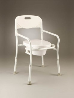 Bedside Commode Folding - Bathroom Safety/Commodes