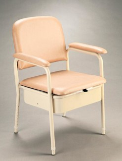 Heavy Duty Bedside Commode - Bathroom Safety/Commodes