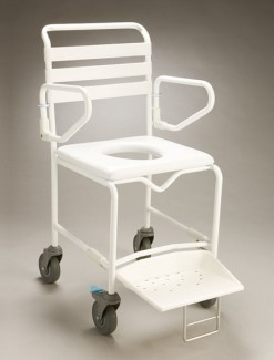 Mobile Shower Commode Transit - Bathroom Safety/Commodes