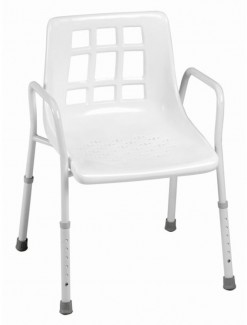 Shower Chair Steel - Bathroom Safety/Shower Chairs & Seats