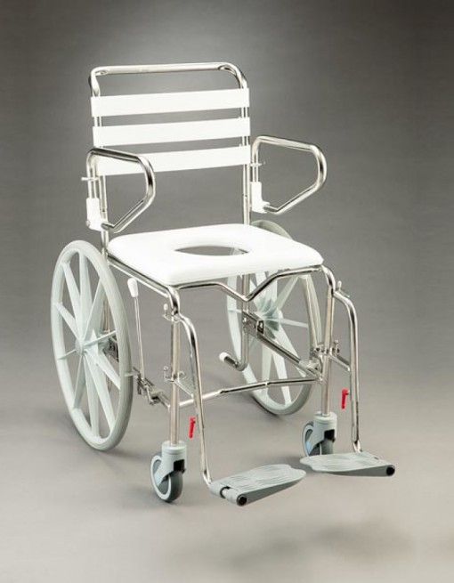 Shower Commode Self Propelled in Bathroom Safety/Commodes