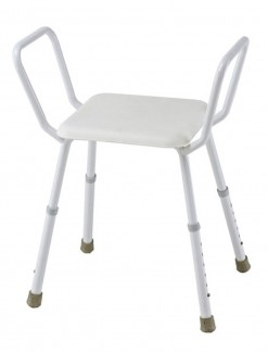 Shower Stool Steel - Bathroom Safety/Shower Chairs & Seats