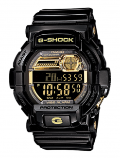 CASIO G-Shock GD-350BR-1 vibrating watch - Medication Aids/Medication Reminders & Alarms