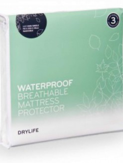 Drylife Waterproof Breathable Mattress Protector & Skirt - Incontinence/Bed Pads & Chucks
