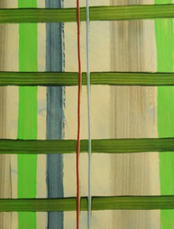 Lime/Bottle Green/Blue Check Coated Table Cloth, Placemats & Aprons - Daily Aids/Dining & Eating Aids