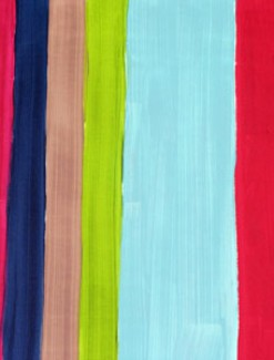 Stripe Co-ordinate for Tapestry Daisies Coated Table Cloth, Placemats & Aprons - Daily Aids/Dining & Eating Aids