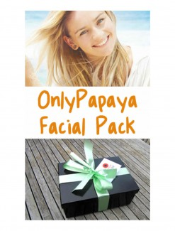 OnlyPapaya Facial Pack - Daily Aids/Wound Creams, Lotions & Gels