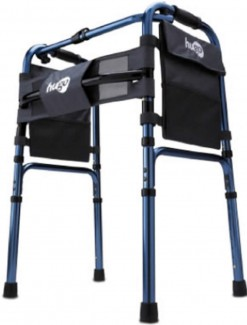 Hugo One Touch Folding Walker - Walkers/Standard