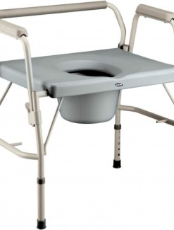 Invacare Bariatric Drop-Arm Commode - Bathroom Safety/Commodes