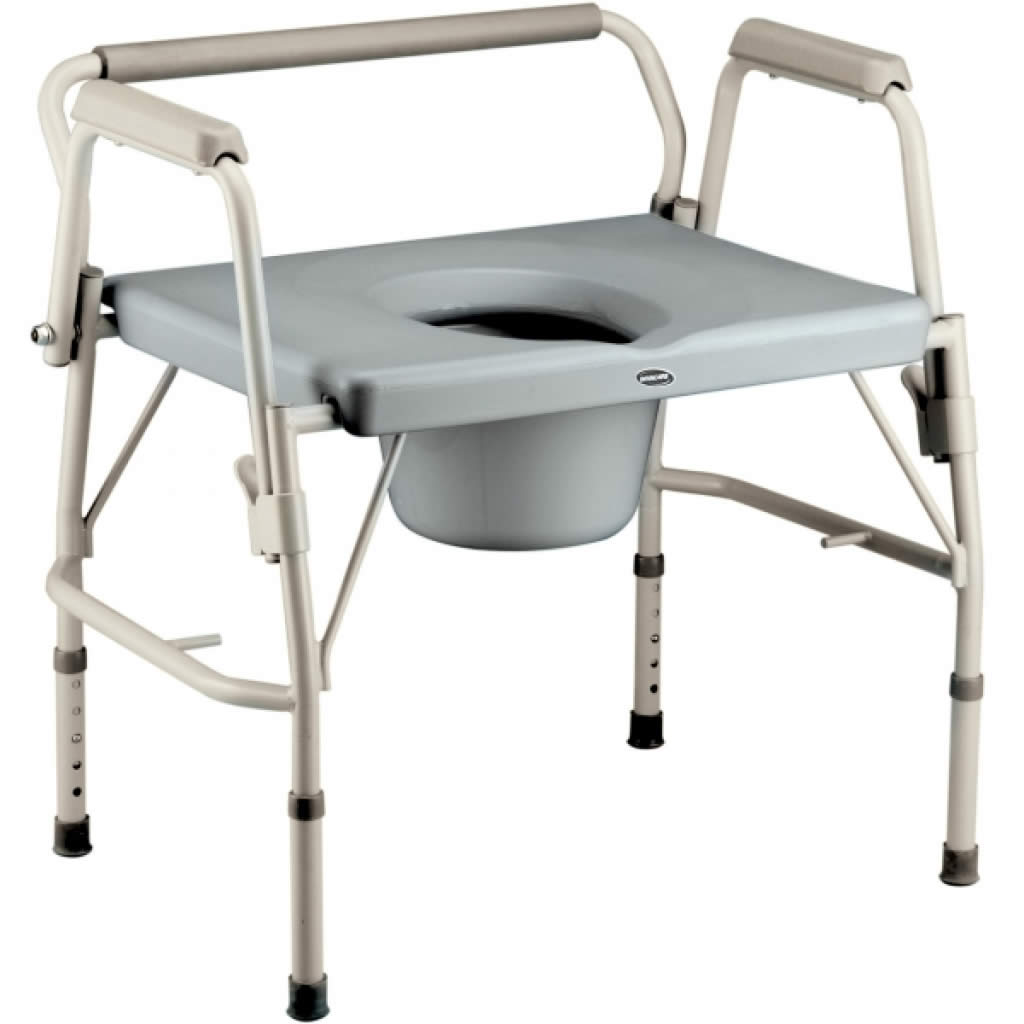 View Invacare Bariatric Drop-Arm Commode From $429.00   Commodes ...