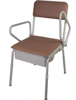 Bedside Commode with swing up Arms - Bathroom Safety/Commodes