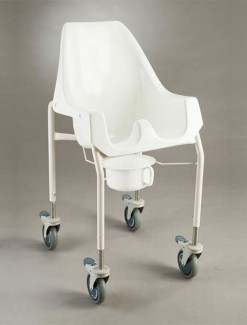 Goanna Chair Adjustable Mobile - Bathroom Safety/Shower Chairs & Seats