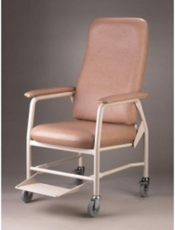 Hilite Highback Chair - Mobile with Footrest - Assistive Furniture/High Back Chair