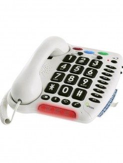Phone Amplified with Big Buttons - Daily Aids/Phones For Seniors/Amplified Phones