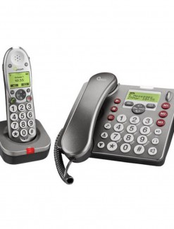 Phone PRO Series Combo DTA - Daily Aids/Phones For Seniors/Big Button Phones