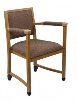 Easy Glide Chair - Assistive Furniture/Low Back Chair