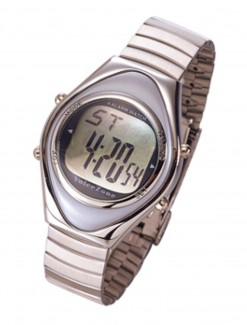 OVO Talking Alarm Watch (Stainless Steel Smooth) - Medication Aids/Medication Reminders & Alarms