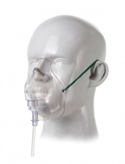 Adult Venturi Mask with Diluter and 2.1 m Tubing - Respiratory Care/Oxygen Accessories