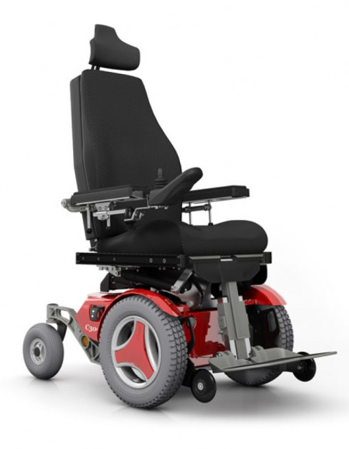 Permobil C300 Corpus 3G Scripted Power Chair in Power Wheelchairs/Outdoor Use