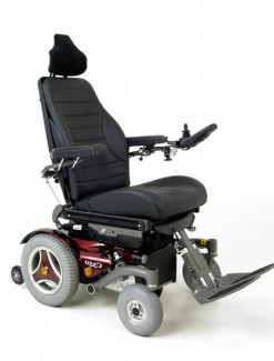 Permobil C350 Corpus 3G Scripted Power Chair - Power Wheelchairs/Outdoor Use