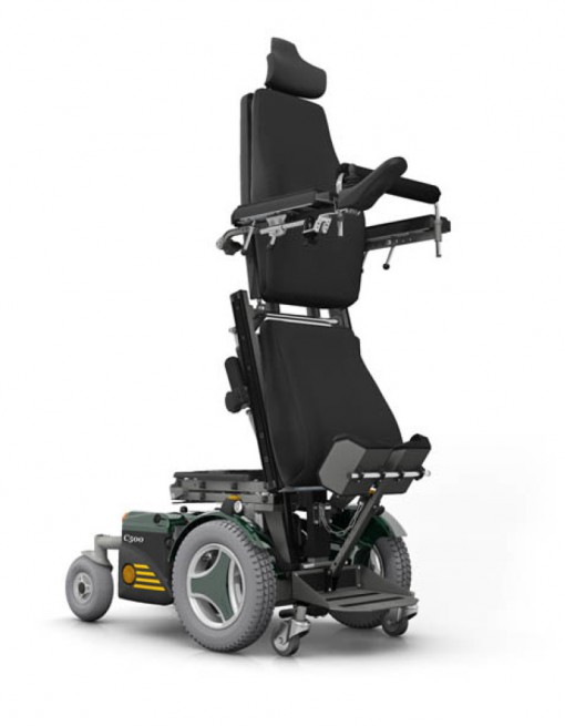 Permobil C500 VS Stander Scripted Power Chair in Power Wheelchairs/Standing Power Wheelchairs