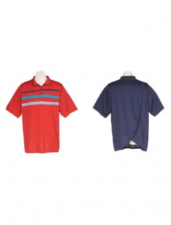 Mens Petal Back Polo Shirt Short Sleeve - Adaptive Clothing/Mens/Men's Sportswear