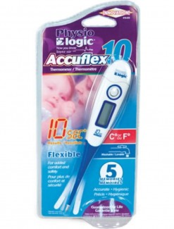 Physio Logic Accuflex 10 Second Thermometer - Health Monitoring/Thermometers