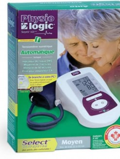 Physio Logic Auto Inflate Blood Pressure Monitor - Health Monitoring/Blood Pressure Monitors