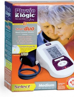 Physio Logic Smart Inflate Duo Blood Pressure Monitor - Health Monitoring/Blood Pressure Monitors