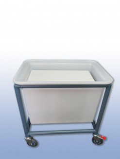 150 litre Auto Laundry Lifter - Professional/Trolleys/Laundry Trolleys