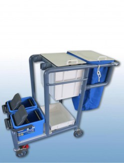 Bucket Cleaners Trolley - Professional/Trolleys/Cleaning Trolleys