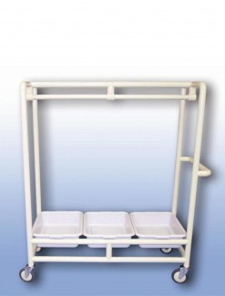 Clothes hanger trolley - Professional/Trolleys/Laundry Trolleys