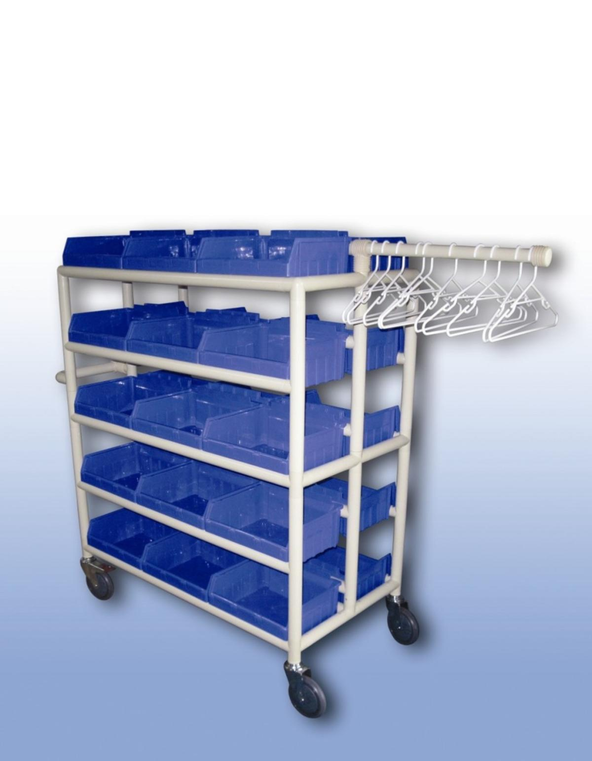 Completely Compact Tub Valet Trolley (x30) Only From   Laundry ...